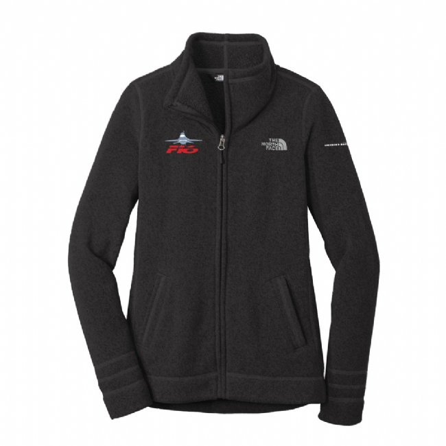 F-16 Women's The North Face Sweater Fleece Jacket