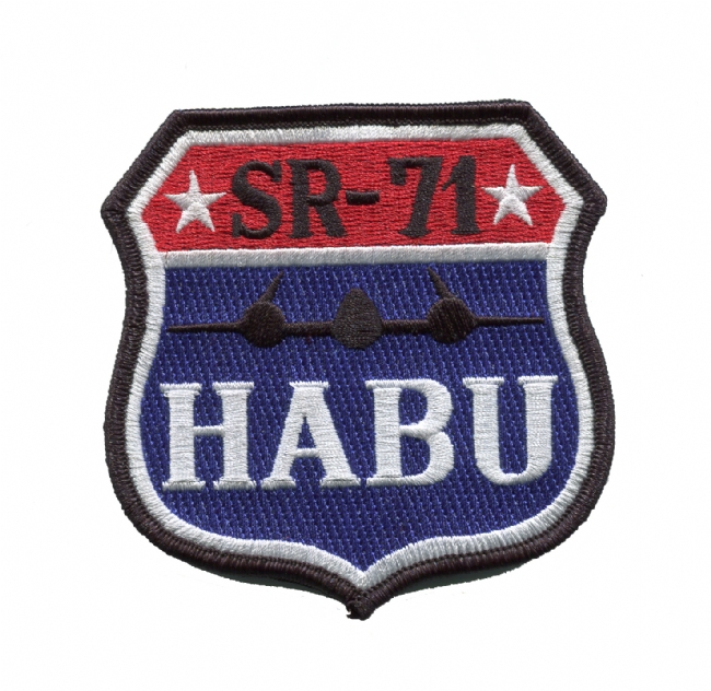 SR-71 HABU Patch