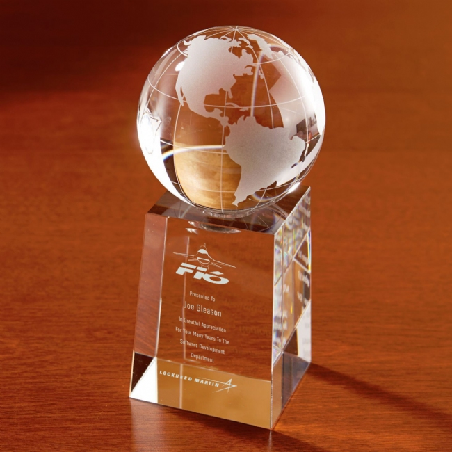 F-16 Explorer Globe Optically Perfect Award