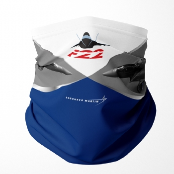 F-22 Neck Gaiter/ Face Shield