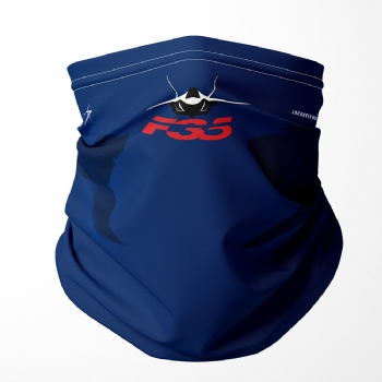 F-35 Neck Gaiter/ Face Shield