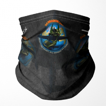 U-2 Dragon Lady Neck Gaiter/ Face Shield