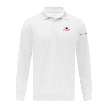 F-35 Long Sleeve Micropique Sport-Wick Polo