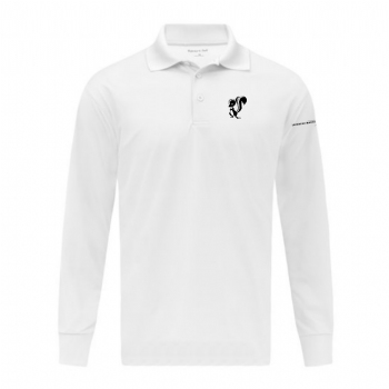Skunk Works Long Sleeve Micropique Sport-Wick Polo
