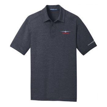 C-130J Digi Heather Performance Polo