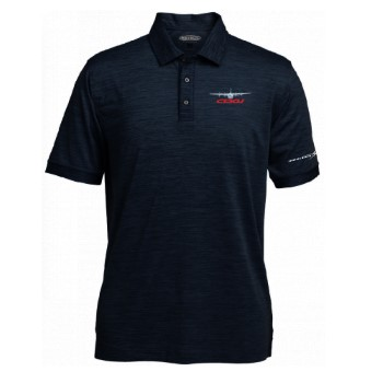 C-130J Men's Pebble Beach Marled Polo