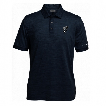 Skunk Works Men's Pebble Beach Marled Polo
