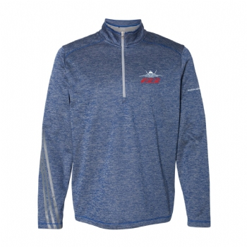 F-22 Adidas Brushed Terry Heathered 1/4 Zip