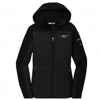 C-130J Woman's Hooded Soft Shell Jacket