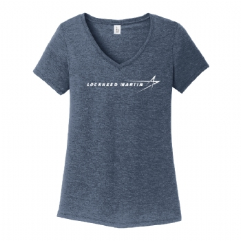 Lockheed Martin Women's District Perfect Tri V-Neck Tee