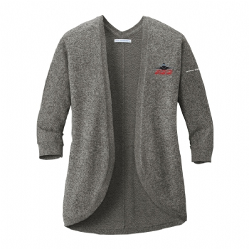 F-22 Women's Marled Cocoon Sweater