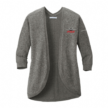 F-35 Women's Marled Cocoon Sweater