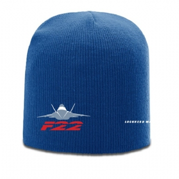F-22 Richardson Solid Knit Beanie