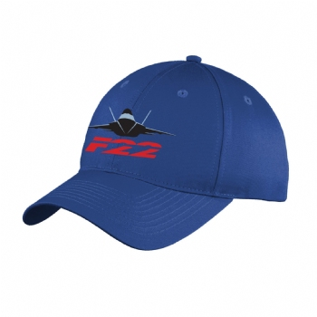 F-22 Six Panel Unstructured Youth Cap