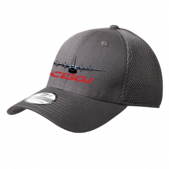 C-130J New Era Stretch Mesh Cap