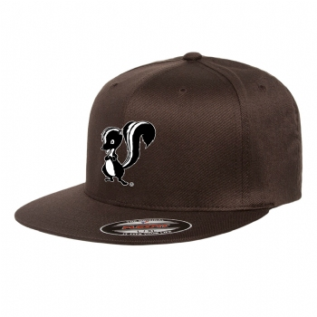 Skunk Works FlexFit Adult Flat Bill Cap