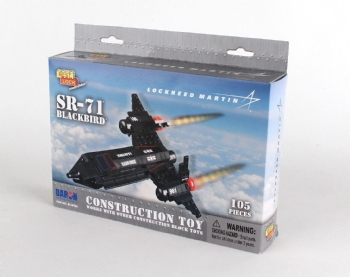 SR-71 105 PIECE CONSTRUCTION TOY