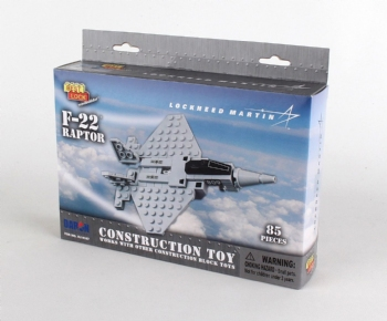F-22 Construction Toy 85 Pieces