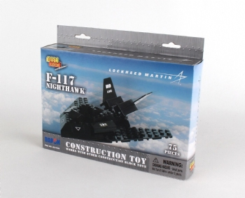F-117 Construction Toy 75 Pieces