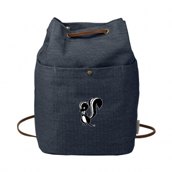 Skunk Works Field & Co. 16 oz. Cotton Canvas Convertible Tote - Navy