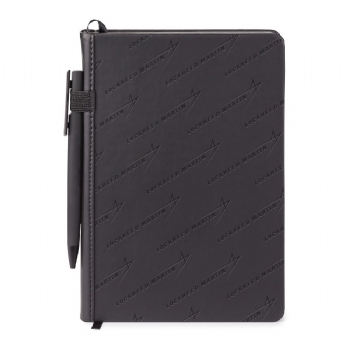 Lockheed Martin Donald Hard cover journal Combo