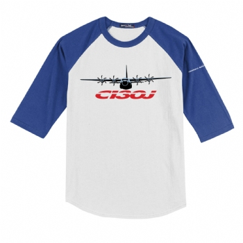 C-130J Youth Colorblock Raglan Jersey