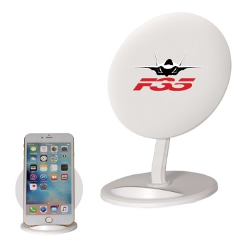 F-35 Wireless Phone Charger and Stand